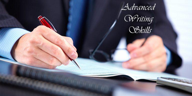 Advanced Writing Skills