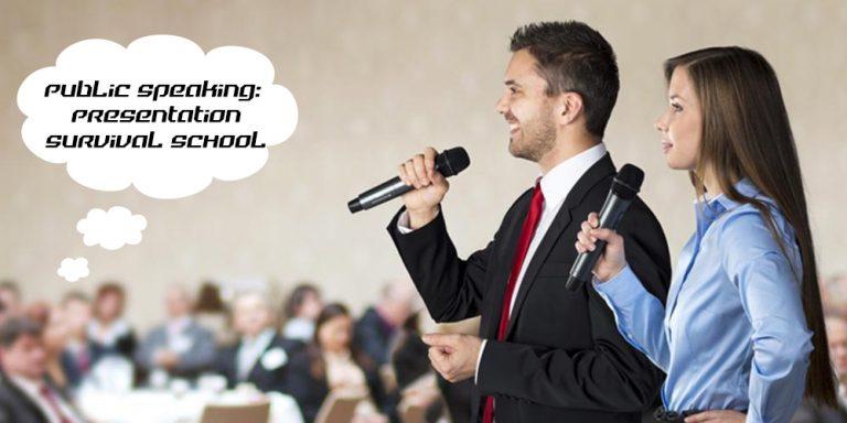 Public Speaking Presentation Survival School